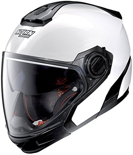 NOLAN N40-5 GT SPECIAL N-COM PURE WHITE L