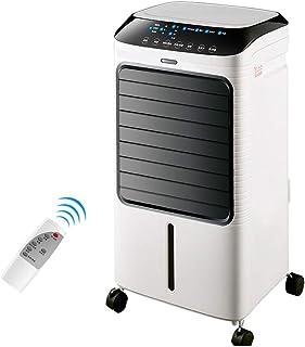 BD.Y Ventilador de Aire Acondicionado Refrigerador de Aire frío Individual Humidificador Refrigeración 65 w, portátil extraíble, Tanque de Agua Grande de 8 l, para Dormitorio Sala de e