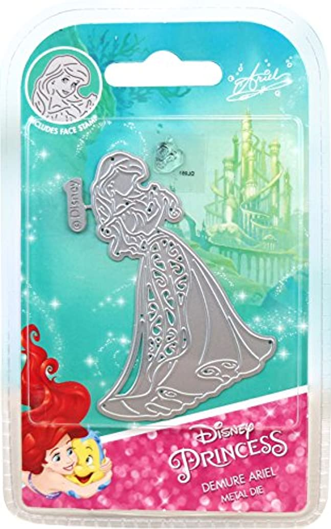 Character World Limited DUS0623 Demure Ariel Die Set, Silver