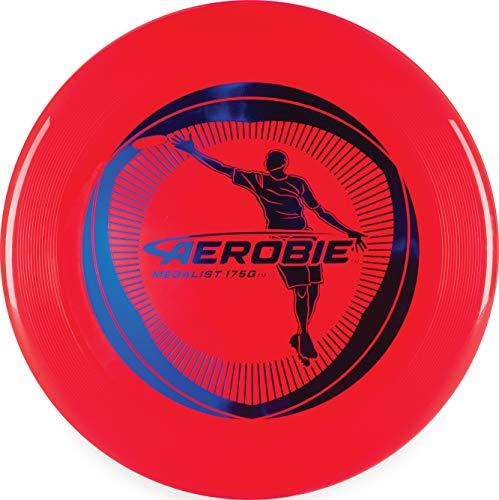 Aerobie 6046419 - Medalist Red, rotes Frisbee mit Durchmesser 27cm