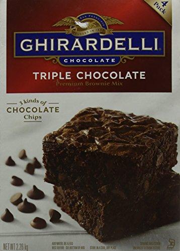 Ghirardelli Triple Chocolate Brownie Mix 2.26kg