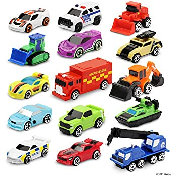Micro Machines Super 15 Pack Collection - Multipack Assortment - Toys Cars and Collectibles - Collect Them All