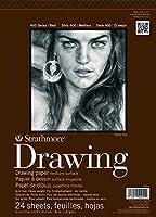 "Strathmore Medium Drawing Paper Pad 11""X14""-80lb 24 Sheets (並行輸入品)"