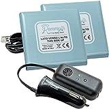 Remmy Dispositivo Anti Abbandono per Seggiolino Auto Bambini 0-4 anni Sistema con Allarme Presa Accendisigari USB Versione per 2 Seggiolini per Auto Standard (NO Start and Stop)