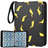 WEWOW Carrying Case Binder for Pokemon Cards, 9-Pocket Card Binder Holder Fits 900 Cards with 50 Pages, Card Binder Collector Album Storage Book Folder for Trading Cards.