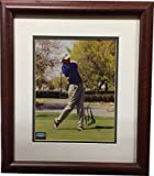 Authentic Autographed Ernie Els Vintage PGA 8x10 Photo Custom Deluxe Framed ~ Mounted Memories Hologram ~ Certified