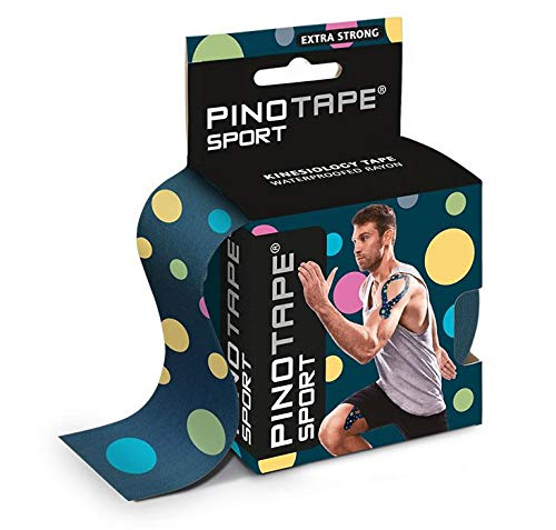 PINOTAPE® Sport Dots 45128 Pino 5 cm x 5 m kinesiologie Tape NEUES DESIGN