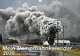 Mein Dampfbahnkalender 2020 (Wandkalender 2020 DIN A3 quer): Die lebendige Welt der Dampfeisenbahn heute in 13 Fotos. (Monatskalender, 14 Seiten ) (CALVENDO Mobilitaet) - Günter Franz Müller