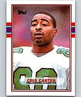 Football NFL 1989 Topps #121 Cris Carter RC Eagles