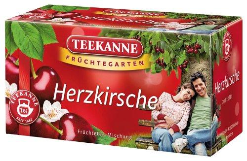 Teekanne Früchtegarten Herzkirsche - 20Beutel