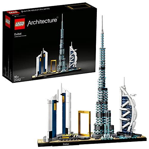 LEGO21052ArchitectureSkylineCollectionDubái,SetdeConstrucción,ModelodeColeccionista,MaquetaDecorativa