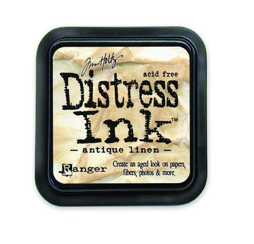 Ranger 18780601 Tim Holtz Distress Ink Pad, Antique Linen, 7.5 x 7.5 x 2 cm