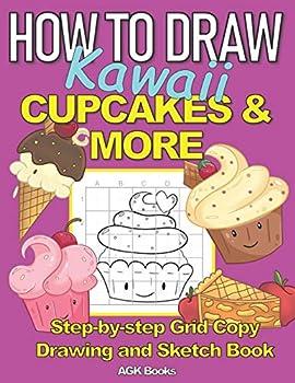 kawaii cake drawing