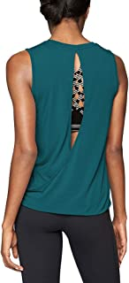Workout Clothes for Women Cute Open Back Yoga Tops Muscle Tank Running Tank Tops