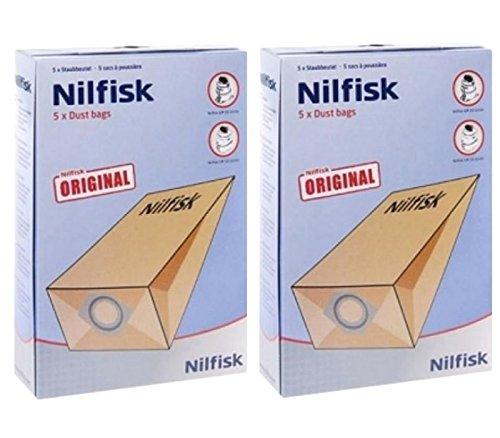Nilfisk G90 GM80 GM90 - Bolsas para aspiradora (10 Unidades ...