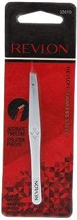Revlon Stainless Steel Accurate Tweezing 1 ea (Pack of 2)