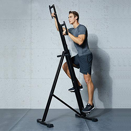 Vertical Climber Exercise Machine,Folding Mountain Climber Stair Stepper...