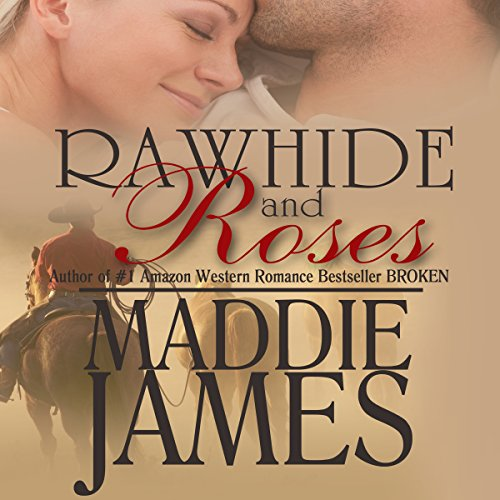 Rawhide and Roses audiobook cover art
