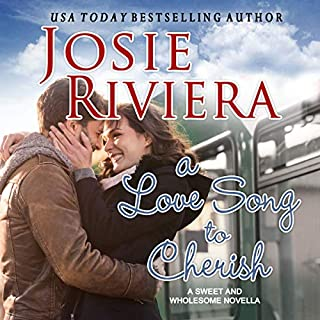 A Love Song to Cherish: A Sweet and Wholesome Christian Novella     Cherish Series, Book 1              By:                                                                                                                                 Josie Riviera                               Narrated by:                                                                                                                                 Anthea Hallett-Ybarra                      Length: 2 hrs and 22 mins     8 ratings     Overall 4.0