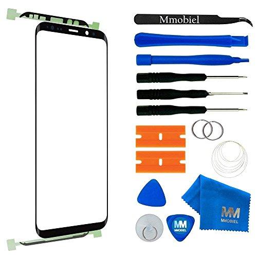 MMOBIEL Kit Reemplazo de Pantalla Táctil Compatible con Samsung Galaxy S9 + Plus G965 Series 6.2 Pulg. (Negro) con Htas.