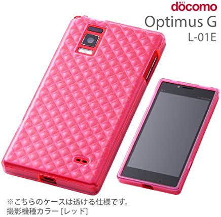 レイ・アウト Optimus G L-01E/LGL21 ケースキラキラ・ソフトジャケット RT-L01EC7/P