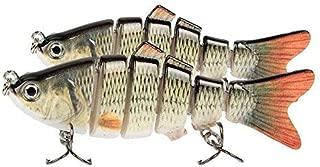 gzzebo 10 Piezas de Silicona Suave se/ñuelos de Pesca en Forma de Gusano