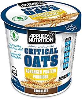 applied nutrion Critical Whey High Level Protein Oats Porridge, Chocolate, 60 gm
