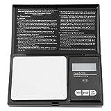 1KG Mini Portátil de Alta Precisión LED Digital Pocket Scale Oro Plata Diamante Joyas Piedra Material de Acero Inoxidable(100g/0.01g)