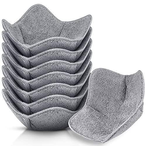 8 Pieces Bowl Cozy Holder Microwave Safe Huggers Multipurpose Hot Heat Resistant Plate Holder...