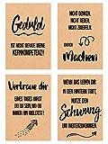 Edition Seidel Set 18 Postkarten Leben & Momente mit schönen Sprüchen gedruckt auf hochwertigem Kraftpapier - Karten mit Spruch - Liebe, Freundschaft, Leben, Motivation, Geburtstagskarten - 5