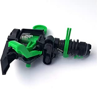 anruo 1 piece adjustable sprinkler irrigation watering garden agriculture and forest spray nozzle greenhouse drip irrigati...
