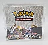 Pokemon Acrylic Premium Booster Box Display Case Box Quality/Framing Acrylic Grade