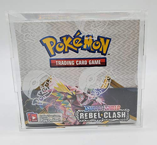 Pokemon Acrylic Premium Booster Box Display Case Box Quality/Framing Acrylic Grade