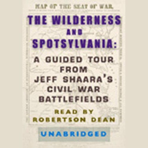 The Wilderness and Spotsylvania audiobook cover art