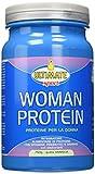 Ultimate Italia Woman Protein – Proteine Specifiche Per Le Donne - Proteine Isolate Di Soia E Albume, Con Estratto Di Ananas, Vitamine, Prebiotici – Favoriscono Il Dimagrimento, Vaniglia, 750 g