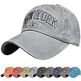 UMIPUBO Gorra de béisbol para Hombre Ajustable de algodón Classic Gorra Bordado New York Vintage Unisex Verano Sombreros de Gorra Deportes de Sol