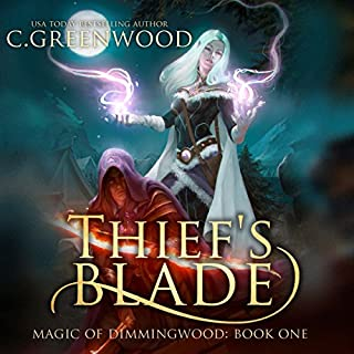 Thief's Blade audiobook cover art