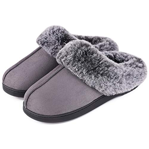 Details about  /Chayou Slippers for Women Men Breathable Memory Foam Slippers with Cozy Down Clo