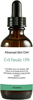 15% Vitamin CE serum (Compare to Leading Skin CE Serum) with Ferulic Acid, Skin Brightening, Collagen boosting, fights hyp...