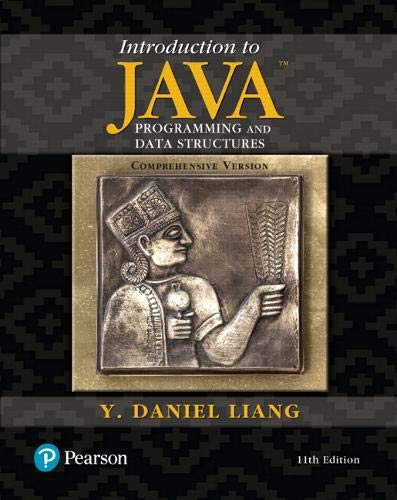 Introduction to Java Programming and Data Structures, Comprehensive Version Plus MyLab Programming with Pearson eText --