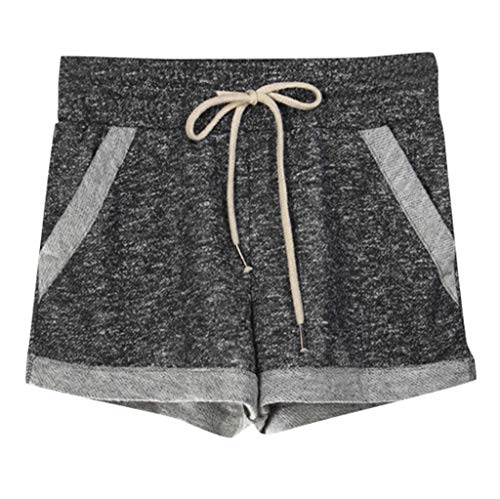 Momoxi Shorts für Damen,Damen Sommer Plus Size Shorts Fitness Yoga Home Hosen Lässige Sport Shorts