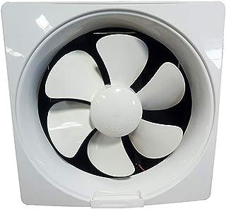 VentiladorExtractor Ventilador de Escape de la Cocina domésticos montados en la Pared o en la Ventana Ventilador silencioso Ventilador Ventilador de baño, 6 Pulgadas for Inodoro