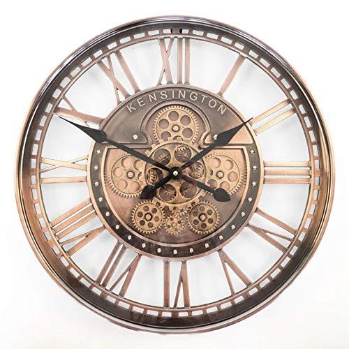 Wanduhr 21 cm Deko Uhr inklusiv Batterie Fische Angelhaken Angel 56834b