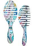 Wet Brush Pro Flex Dry Hair Brush, Swirl/Multi