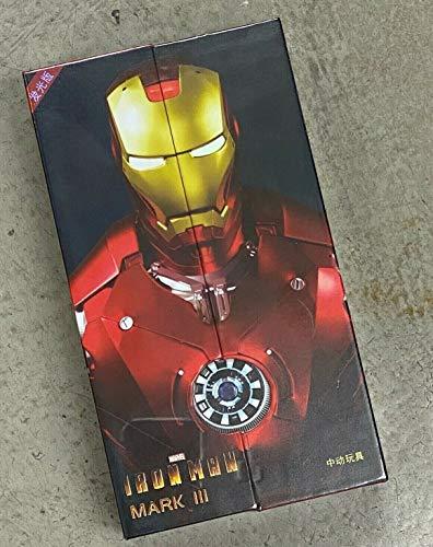 "ZD Toys Iron Man Mark 3 Mark III 7"" Action Figure (LED Version)"