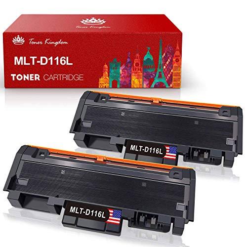 Toner Kingdom MLT-D116L Kompatibel Toner für Samsung MLT-D116L MLT-D116S für Samsung Xpress M2675FN M2835DW M2885FW M2825DW M2825ND M2875FW M2875FD M2625D M2675 M2825 M2835 M2875 M2885 (2 Pack)