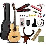 ギター 初心者 入門 アコースティック クラシックギター チューナーピックセット16点セット ナチュラル