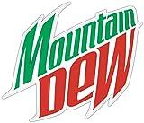 valstick Mountain Dew Logo Car Bumper Sticker Decal 14'' X 12''
