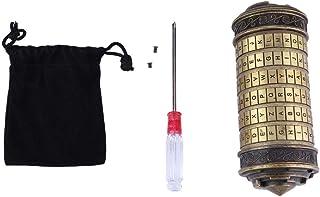 Da Vinci Code Lock Made of Premium Metal Material Romantic Code Lock in da Vinci's Intellectual Style Antique Metal Alphab...