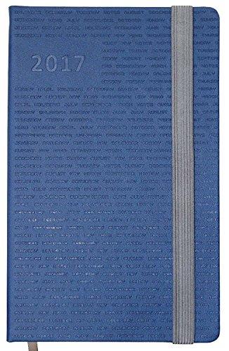Idena 10680–Agenda Calendario Agenda Men 2017, FSC-Mix, Blue Men